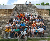 2012 AGM X'Cambo Mayan Site, group photo - (c) J Dore