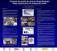 Feliz et al (2008) Tortoiseshell in Santo Dominigo, poster to ISTS 38, Loreto_SMALL